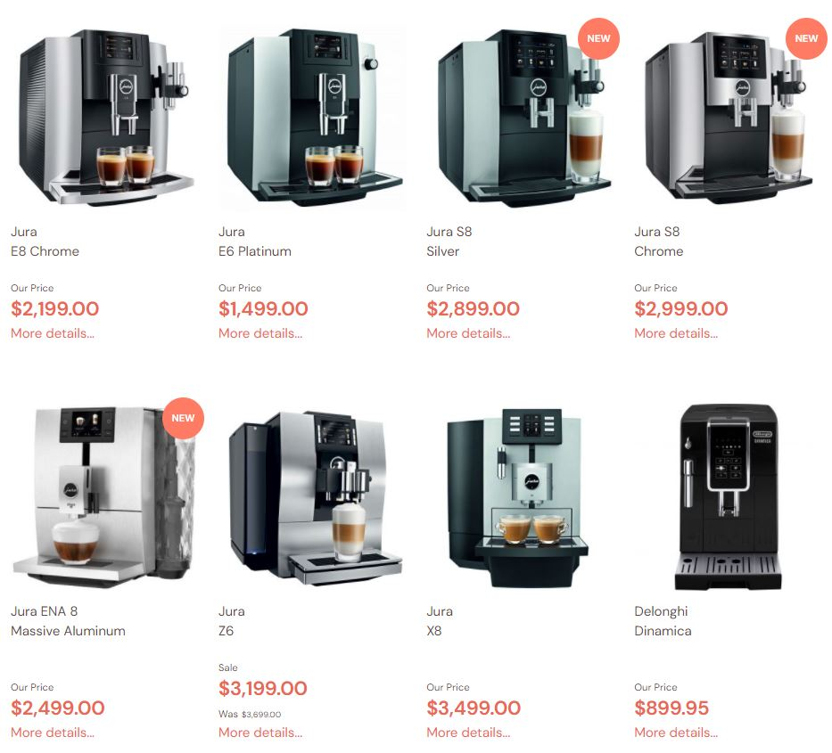 Super & Fully Automatic Espresso Machines Reviews